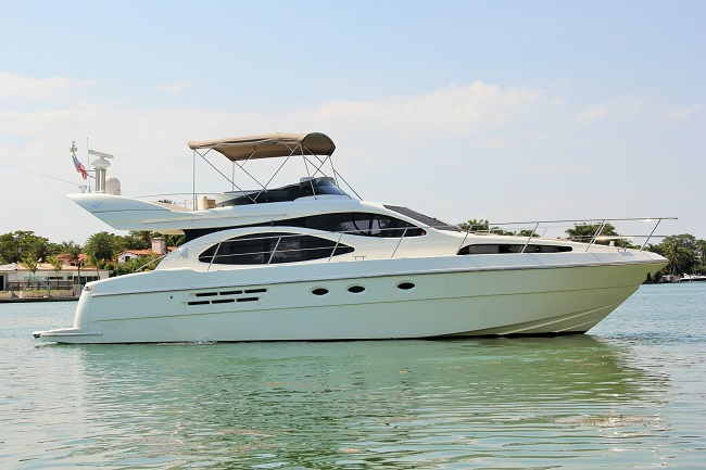 ocean yachts charters miami