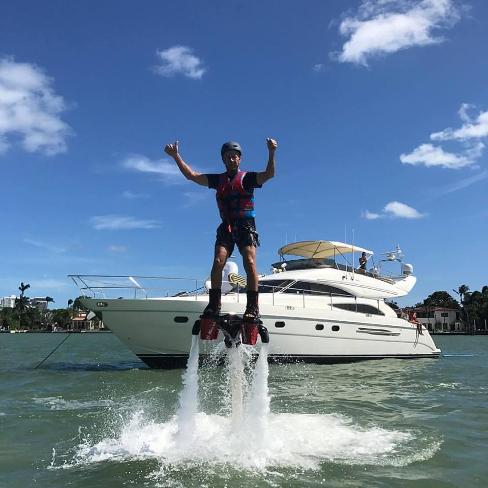 Flyboard Rental Miami & Yacht Charter