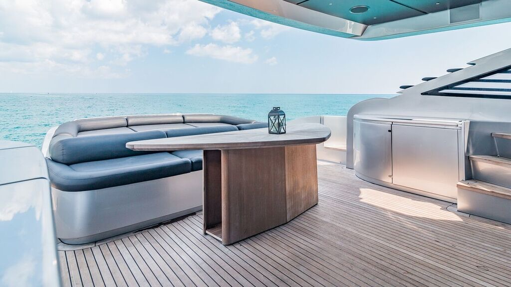 90 Foot Pershing Yacht Rental North Miami Beach