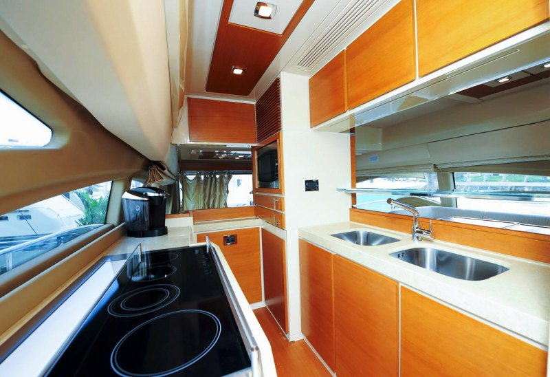 galley 70 florida luxury yacht charter