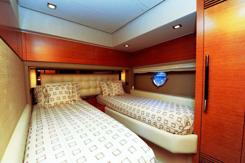port stateroom 70 florida luxury yacht charter