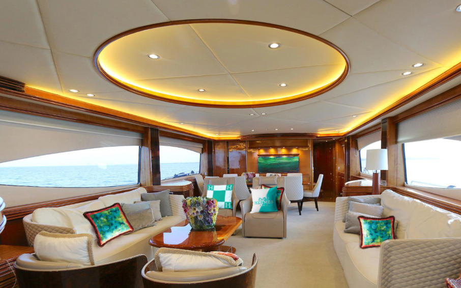 105' Sunseeker south florida boat charters