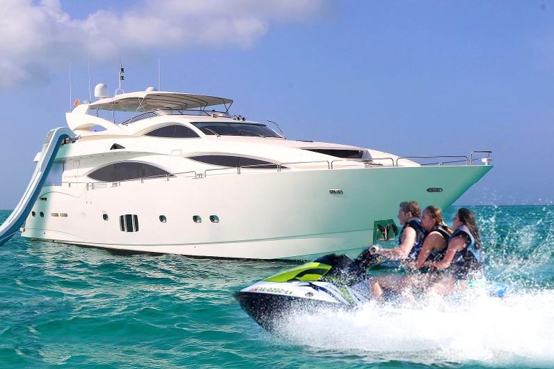 105' Sunseeker south florida yacht charter