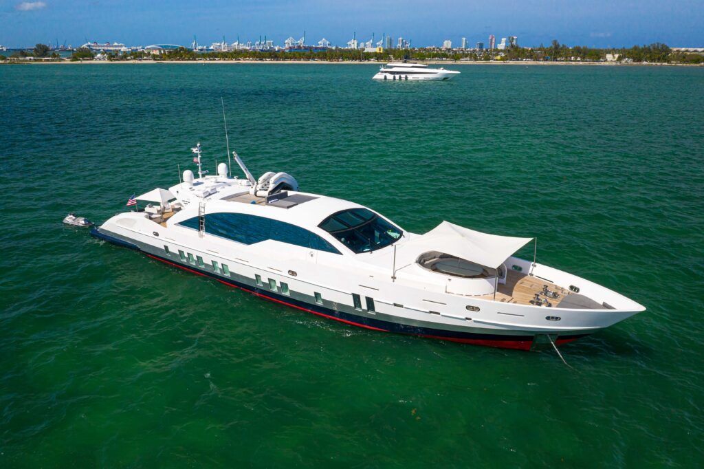 120' Technomar South Florida Yacht Charter