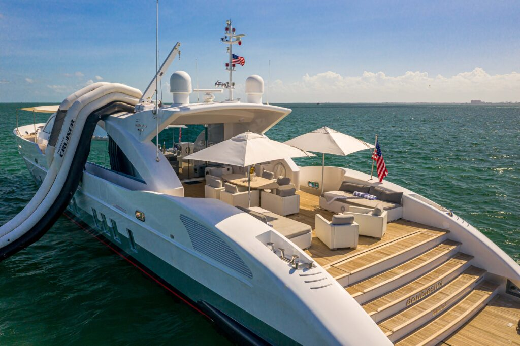 120' Technomar south fl yacht charters