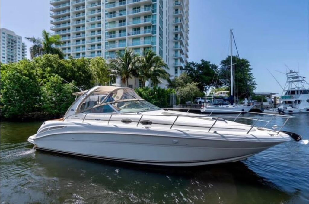 40' Sundancer south florida yacht charters