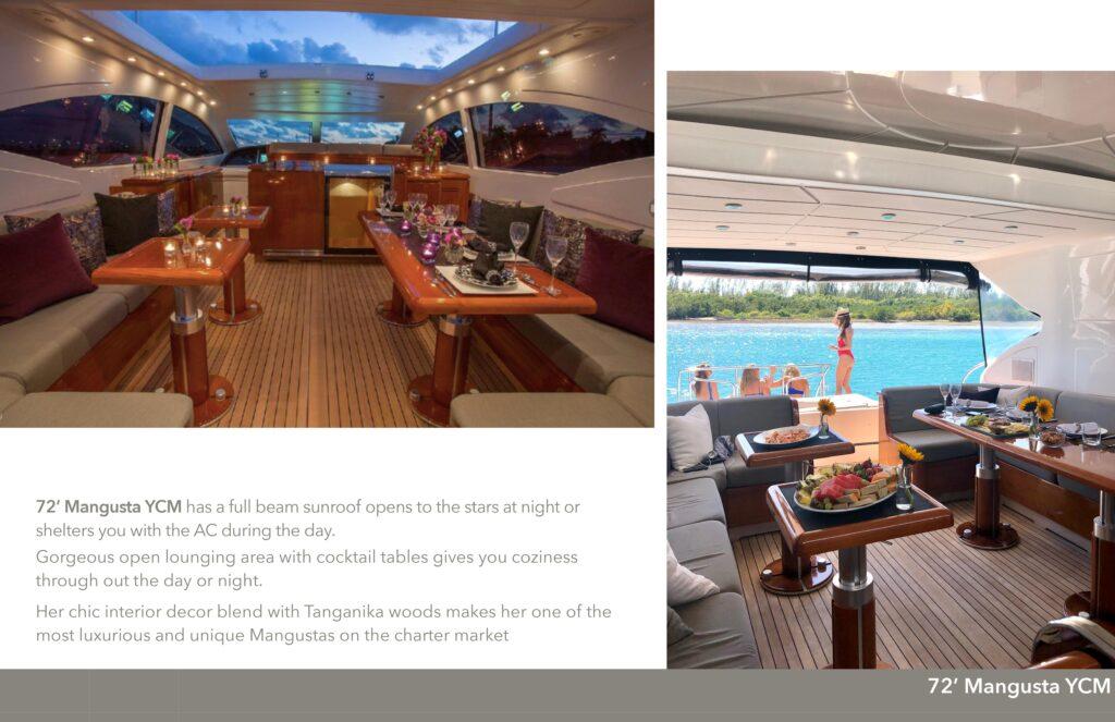 72' Mangusta Miami Boat Charters