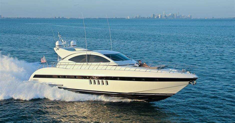 72' Mangusta South FL Yacht