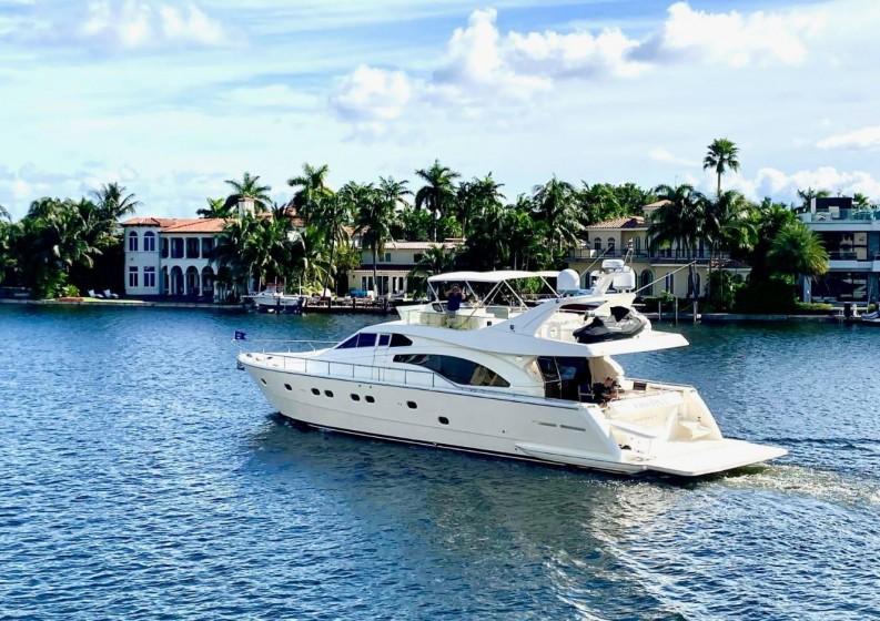 75' Ferreti South Florida Yacht Charter