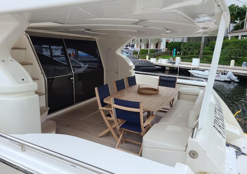 75' ferretti yacht south fl