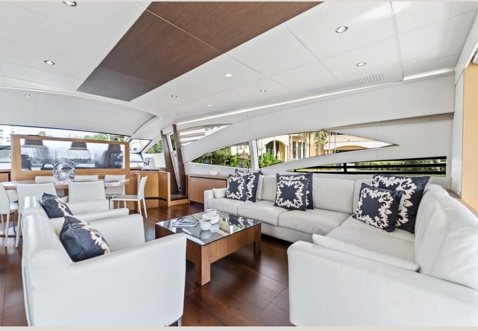 94' Pershing south florida yacht boat rentals